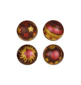 Leman Leman - Christmas Balls Dark - 2.8cm (96ct), 34702