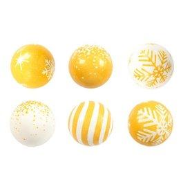 Leman Leman - Gold & White Balls - 2.8cm (96ct), 14237