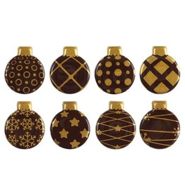 Leman Leman - Chocolate Gold Ornaments - 2.5cm (300ct), 13788