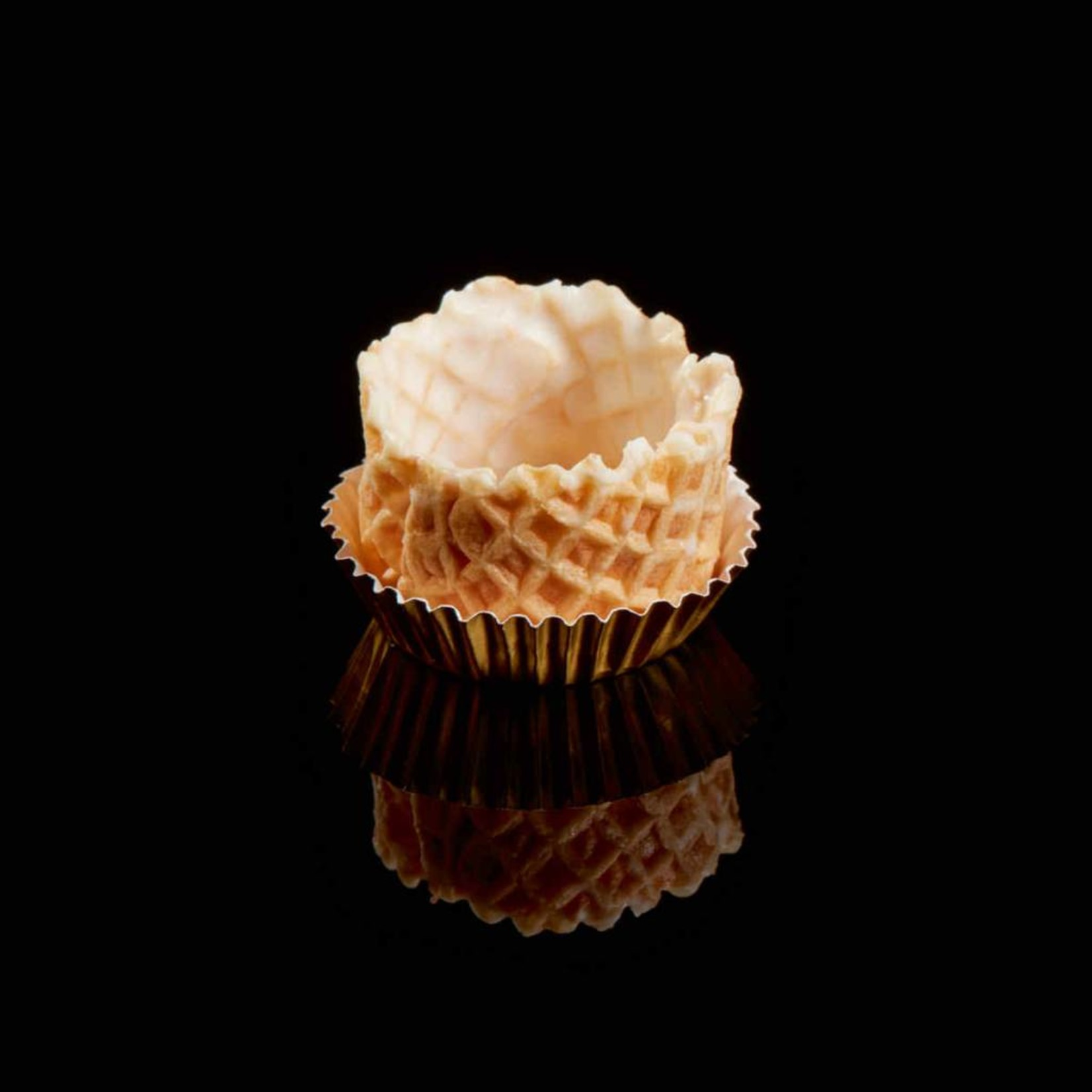 Delifrance Delifrance - Waffle Basket, Vanilla - 1.5'' (126ct), 78458