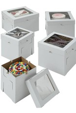 Whalen Whalen - Cake box - Corrugated w/window -