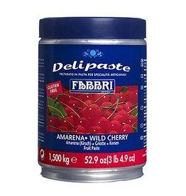 Fabbri Fabbri - Amarena (wild cherry) DeliPaste, 3.3lb, 9225748