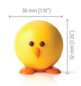 Dobla Dobla - Chocolate 3D Little Chicken - (18ct), 77230 *6*