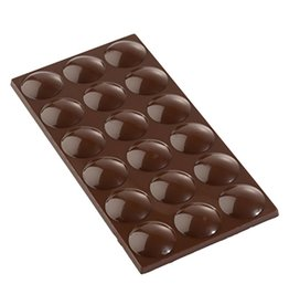 Cacao Barry Cacao Barry - Polycarbonate Chocolate Mold - Pistoles Tablette (3 cavity) MLD-090533-M00