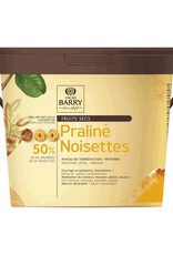 Cacao Barry Cacao Barry - Hazelnut Praline Paste 50% - 5kg/11 lb, PRN-HA50CBY-T60