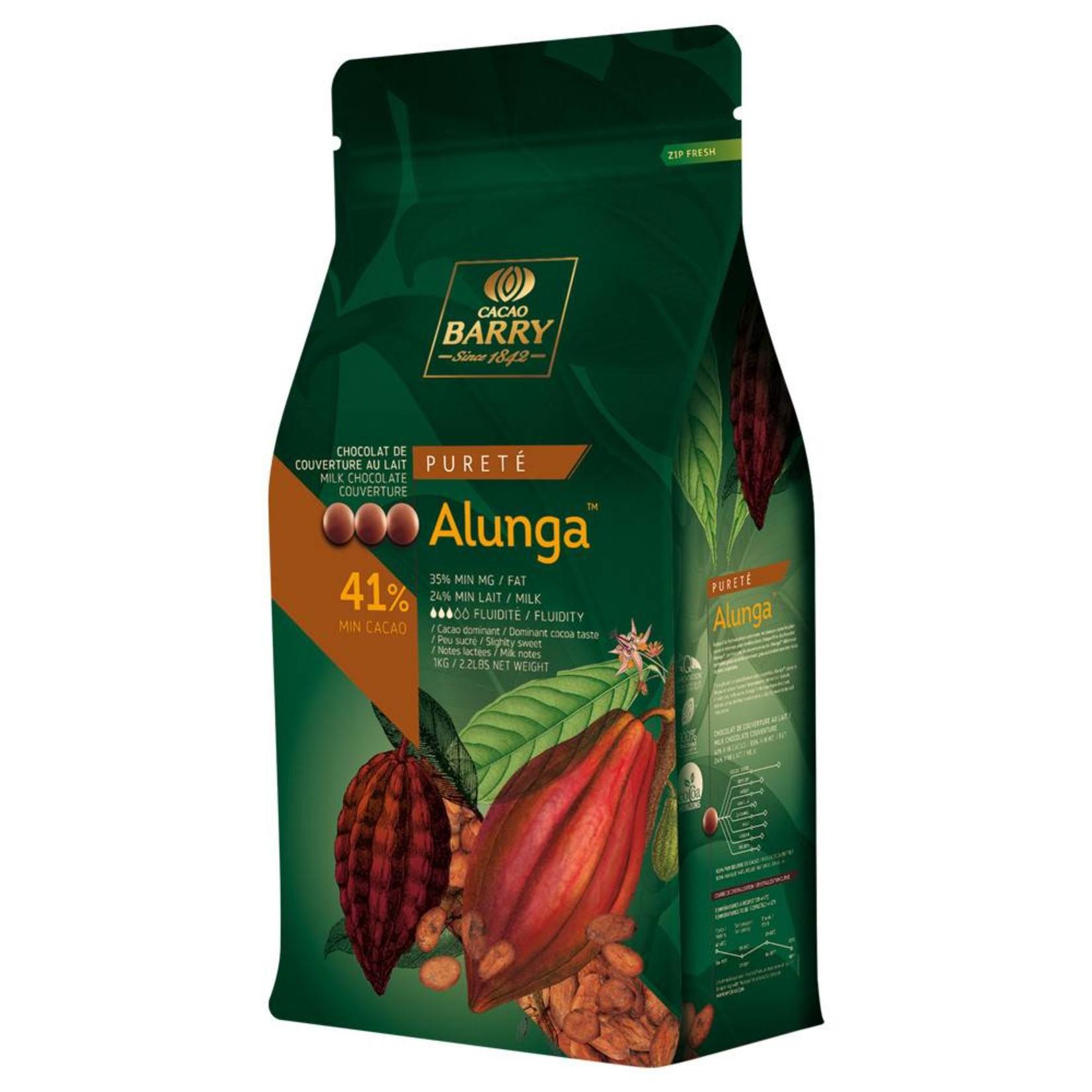 Cacao Barry Cacao Barry - Alunga Milk Chocolate 41% - 5kg/11 lb, CHM-Q41ALUN-US-U77