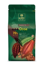 Cacao Barry Cacao Barry - Ocoa Dark Chocolate 70% - 5kg/11 lb, CHD-N70OCOA-US-U77