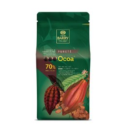 Cacao Barry Cacao Barry - Ocoa Dark Chocolate, 70% - 5kg/11 lb, CHD-N70OCOA-US-U77