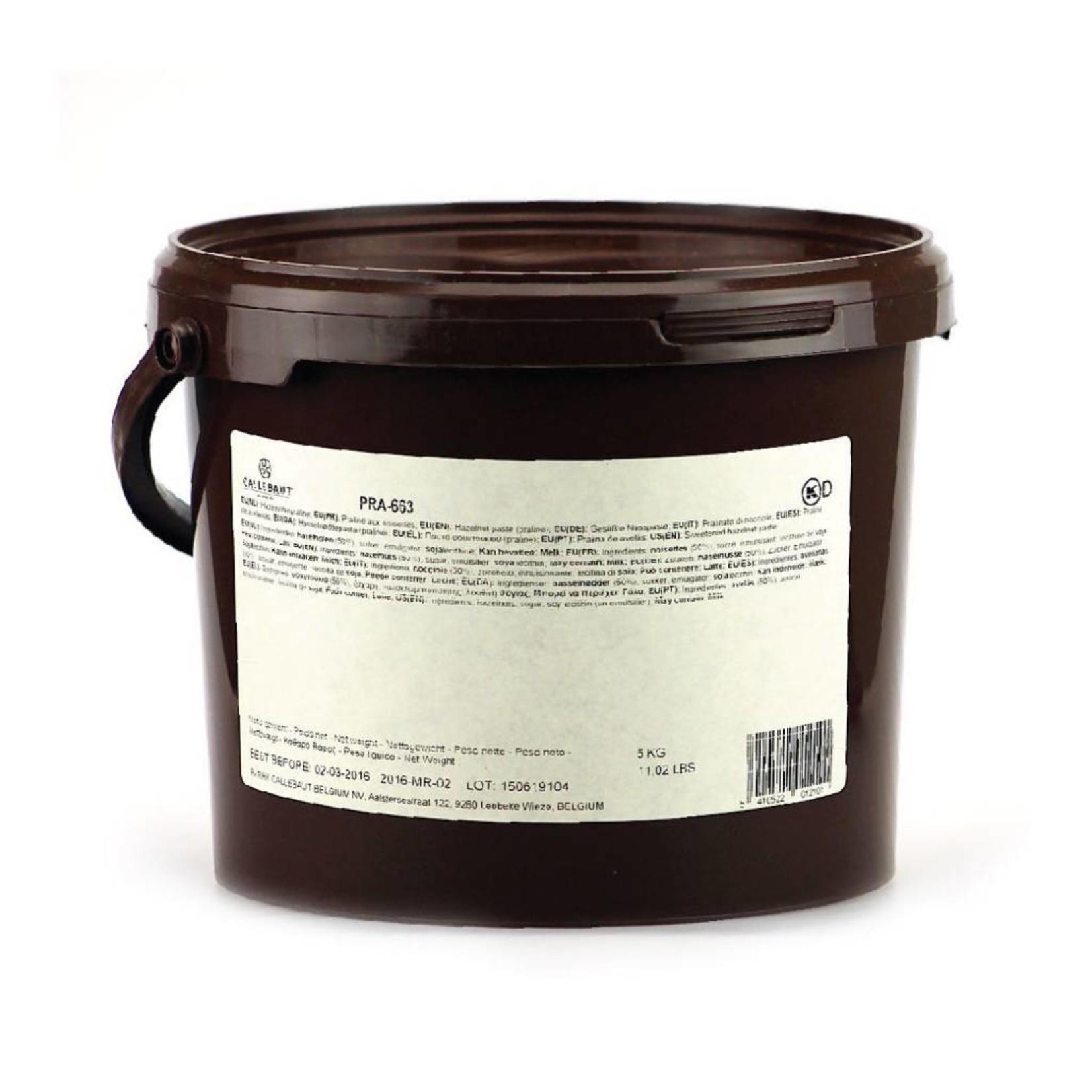 Barry Callebaut Barry Callebaut - Hazelnut Praline Paste - 50% Hazelnuts - 5kg/11lb, PRA-663