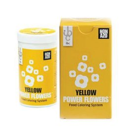 Mona Lisa IBC - Power Flowers, Yellow -50g, CLR-19431-999