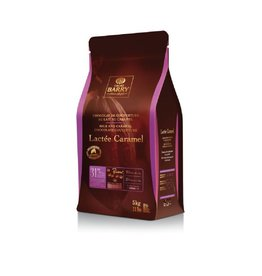 Cacao Barry Cacao Barry - Lactee Caramel Milk Chocolate, 31% - 5kg/11 lb, CHF-N31CARA-US-U77