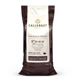 Barry Callebaut Barry Callebaut - 60-40-38 Dark Chocolate 60.1% - 10kg/22lb, 60-40-38NV-595