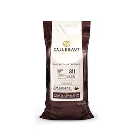 Callebaut Callebaut - 811 Dark Chocolate 54.5% - 10kg/22lb, 811NV-595