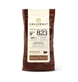 Callebaut Callebaut - 823 Milk Chocolate 33.6% - 10kg/22lb, 823NV-595