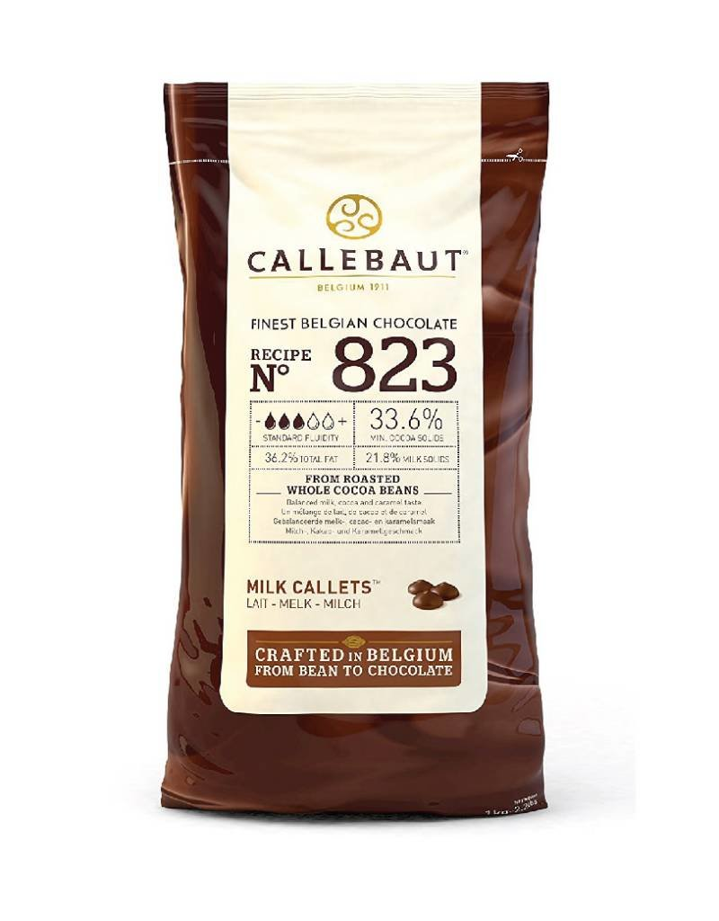 Barry Callebaut Barry Callebaut - 823 Milk Chocolate 33.6% - 10kg/22lb, 823NV-595