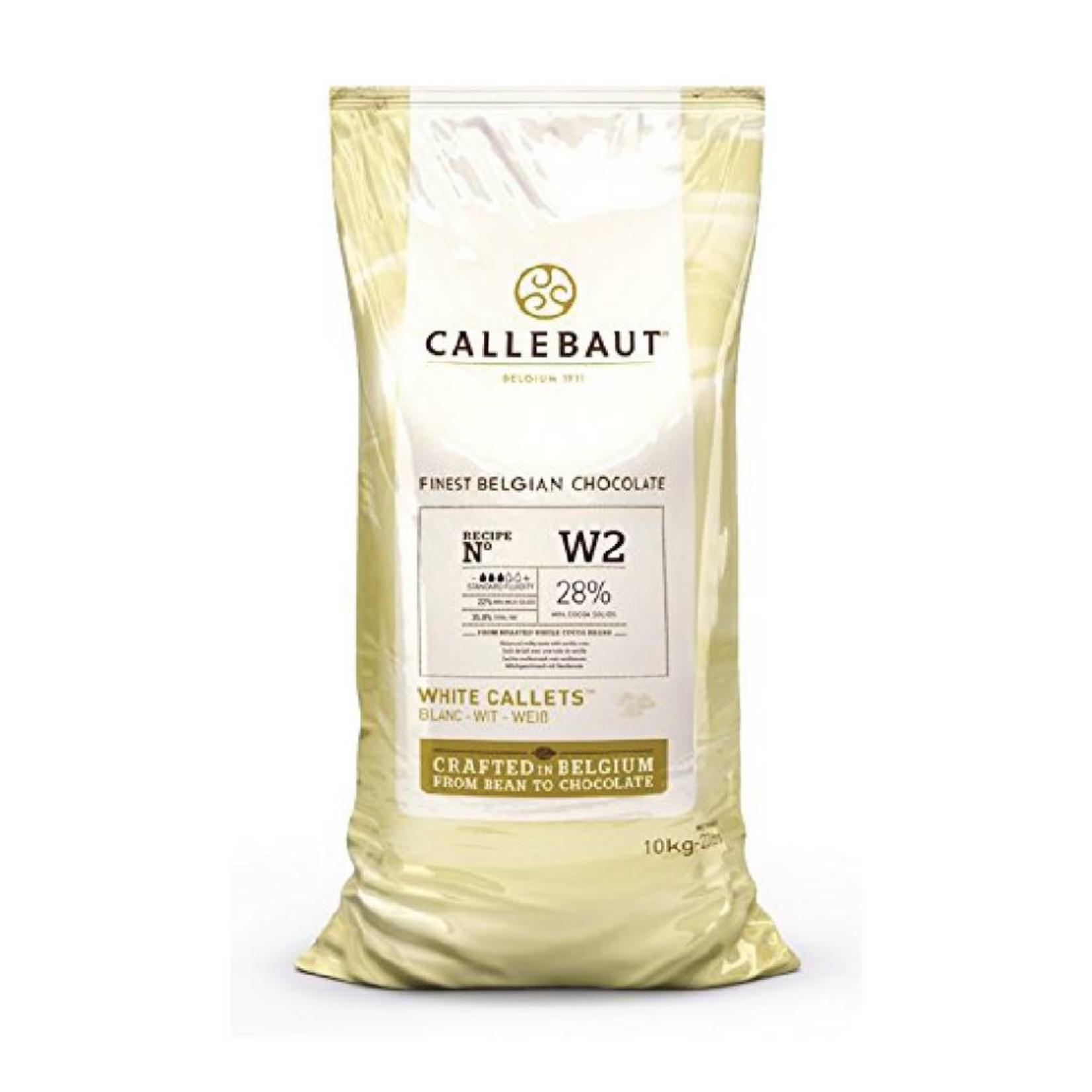 Barry Callebaut Barry Callebaut - W2 White Chocolate 28% - 10kg/22lb, W2NV-595