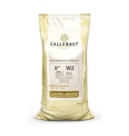 Callebaut Callebaut - W2 White Chocolate, 28% - 10kg/22lb, W2NV-595