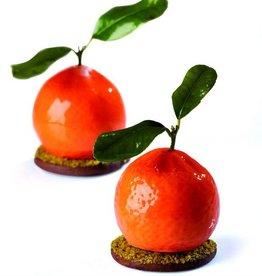 Pavoni Pavoni - Tutti Fruiti silicone mold, Tangerine (20 cavity), PX4332