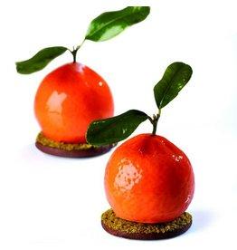 Pavoni Pavoni - Tutti Fruiti mold, Tangerine (20 cavity), PX4332