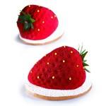 Pavoni Pavoni - Tutti Fruiti silicone mold, Strawberry (20 cavity), PX4333