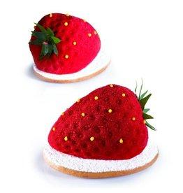Pavoni Pavoni - Tutti Fruiti mold, Strawberry (20 cavity), PX4333