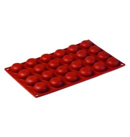 Pavoni Pavoni - Formaflex silicone mold, Pomponette (24 cavity), FR006
