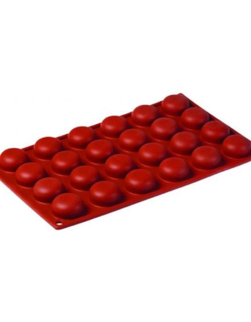 Pavoni Pavoni - Formaflex silicone mold, Pomponette (24 cavity), FR006