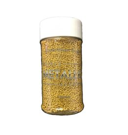 Confectionery Arts Confectionery Arts - Nonpareils, Metallic Gold - 3oz