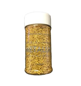 Confectionery Arts Confectionery Arts - Sprinkles, Metallic Gold - 3 oz