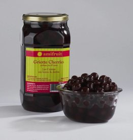 Amifruit Amifruit - Griotte Cherries in Brandy - 1 liter, AMI701*6*