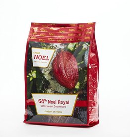 Cacao Noel Noel - Royal Dark Chocolate 64% - 11 lb, NOE108