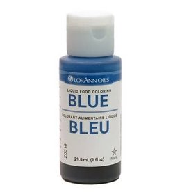 Lorann Lorann - Blue Liquid Food Color - 1 oz, 1020-0500
