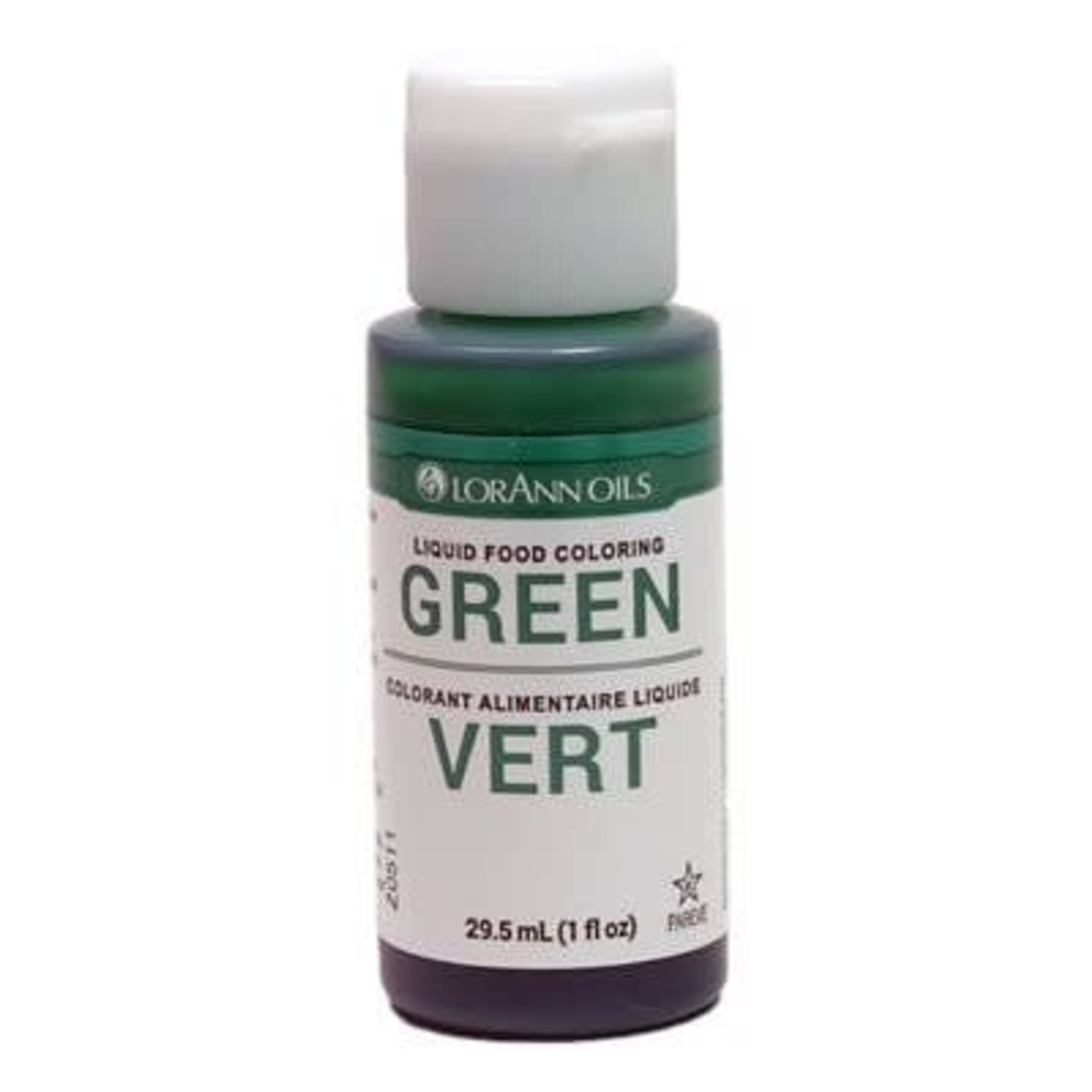 Lorann Lorann - Green Liquid Food Color- 1 oz, 1050-0500
