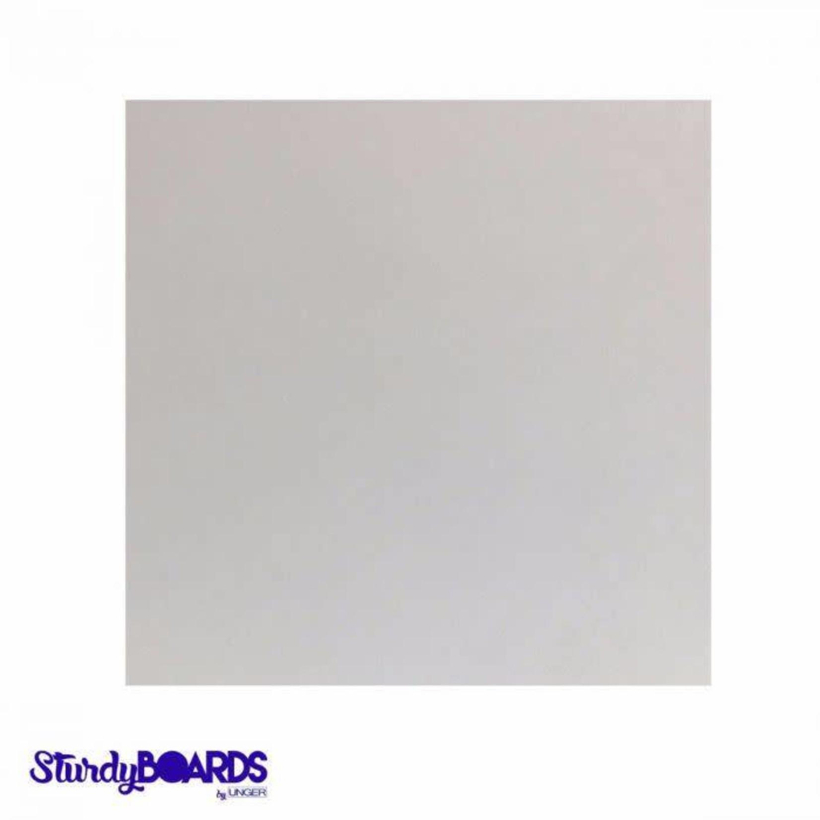 Unger Unger - Sturdy cake board - Square, White - 14''