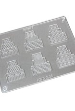 Fat Daddios Fat Daddios - Polycarbonate Chocolate Mold, Two piece Tiered Cakes (6ct),  - 1.9x1.6'', PCMT-0106