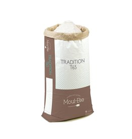 Moul-Bie Moul-Bie - Traditional French Bread T65 flour - 25kg/55lb, 4728