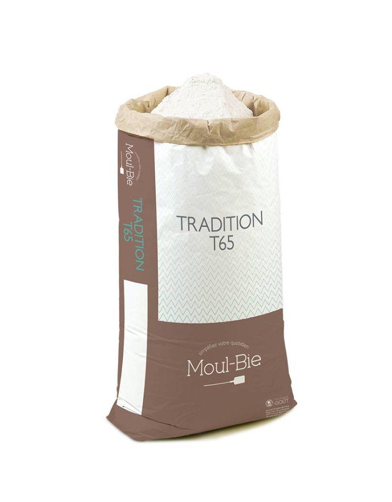 Moul-Bie Moul-Bie - Traditional French Bread T65 flour - 25kg/55lb, 4728