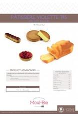 Moul-Bie Moul-Bie - Pastry Patissiere T45 flour - 25kg/55lb, 4730