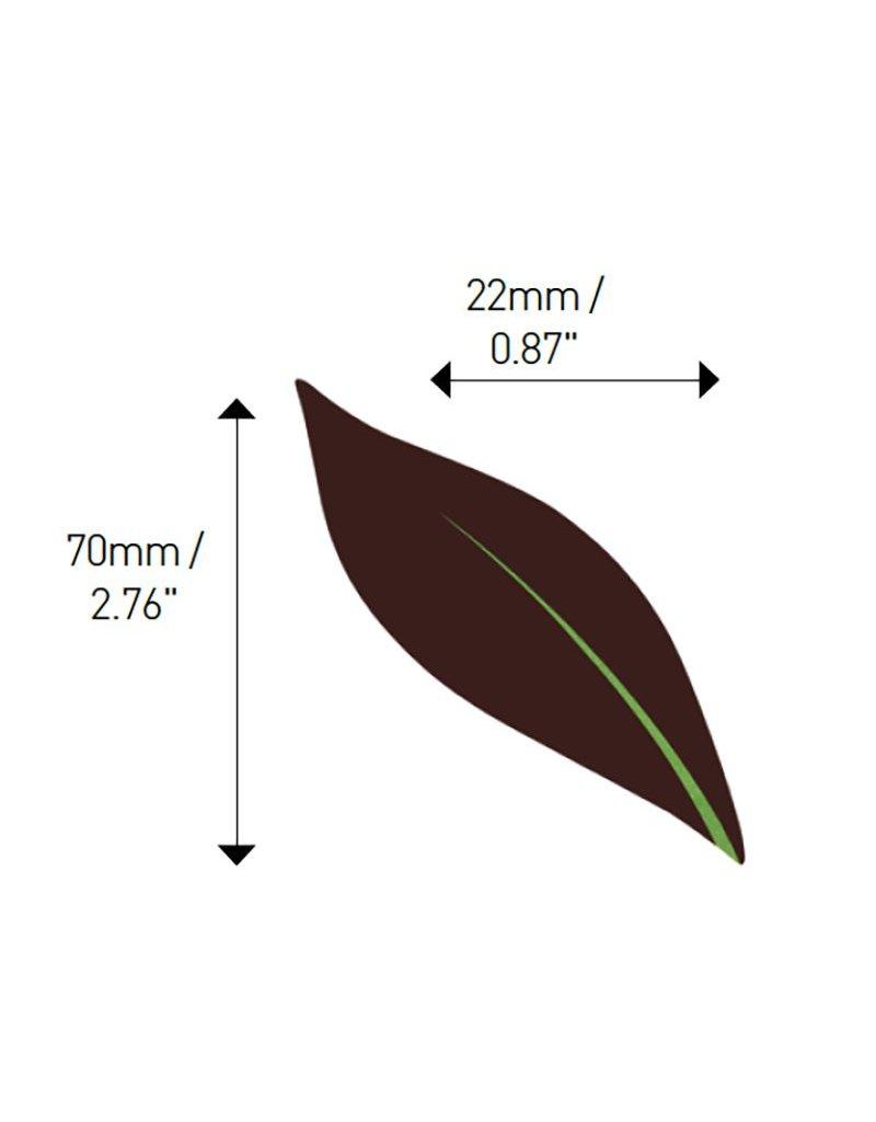 Valrhona Valrhona - Simple Leaf Dark Chocolate (81 ct), 17078