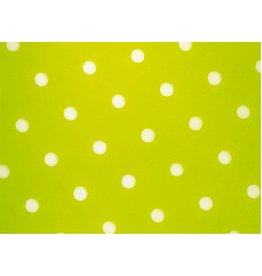 Valrhona Valrhona - Cocoa butter transfer, Green Negative Polka-Dots (20 sheets), 17083