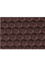 Valrhona Valrhona - Transfers - Honeycomb 3D Chocolate (20 sheets), 17089