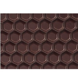 Valrhona Valrhona - 3D Textured Sheets, Honeycomb (20 sheets), 17089