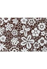 Valrhona Valrhona - Cocoa butter transfer, Lace (20 sheets), 17086