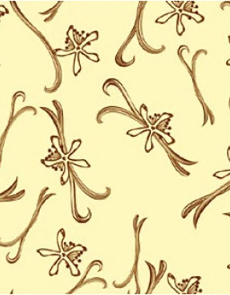 Valrhona Valrhona - Cocoa butter transfer, Vanilla (20 sheets), 17085