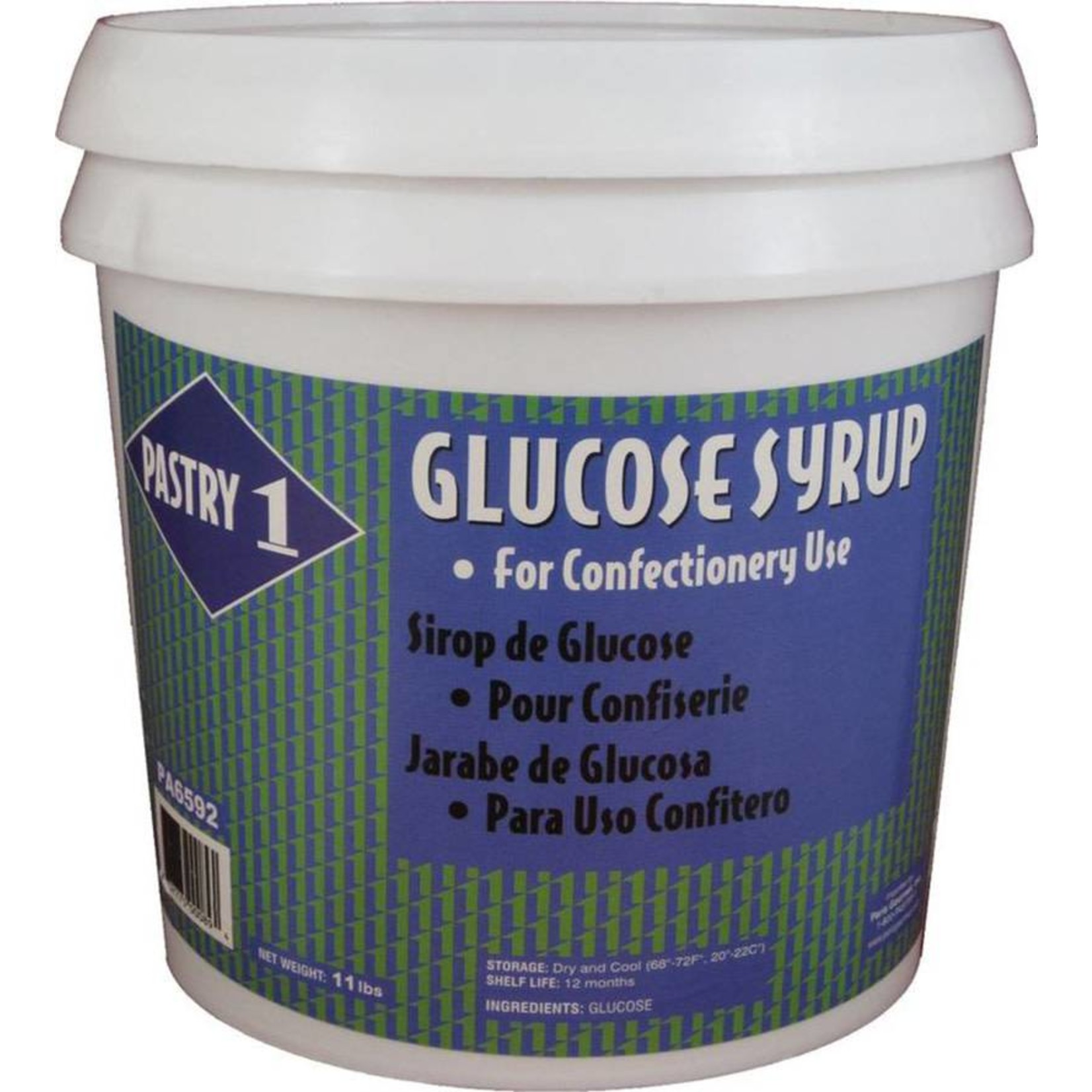 Pastry 1 Pastry 1 - Glucose Syrup - 11 lb, PA6592