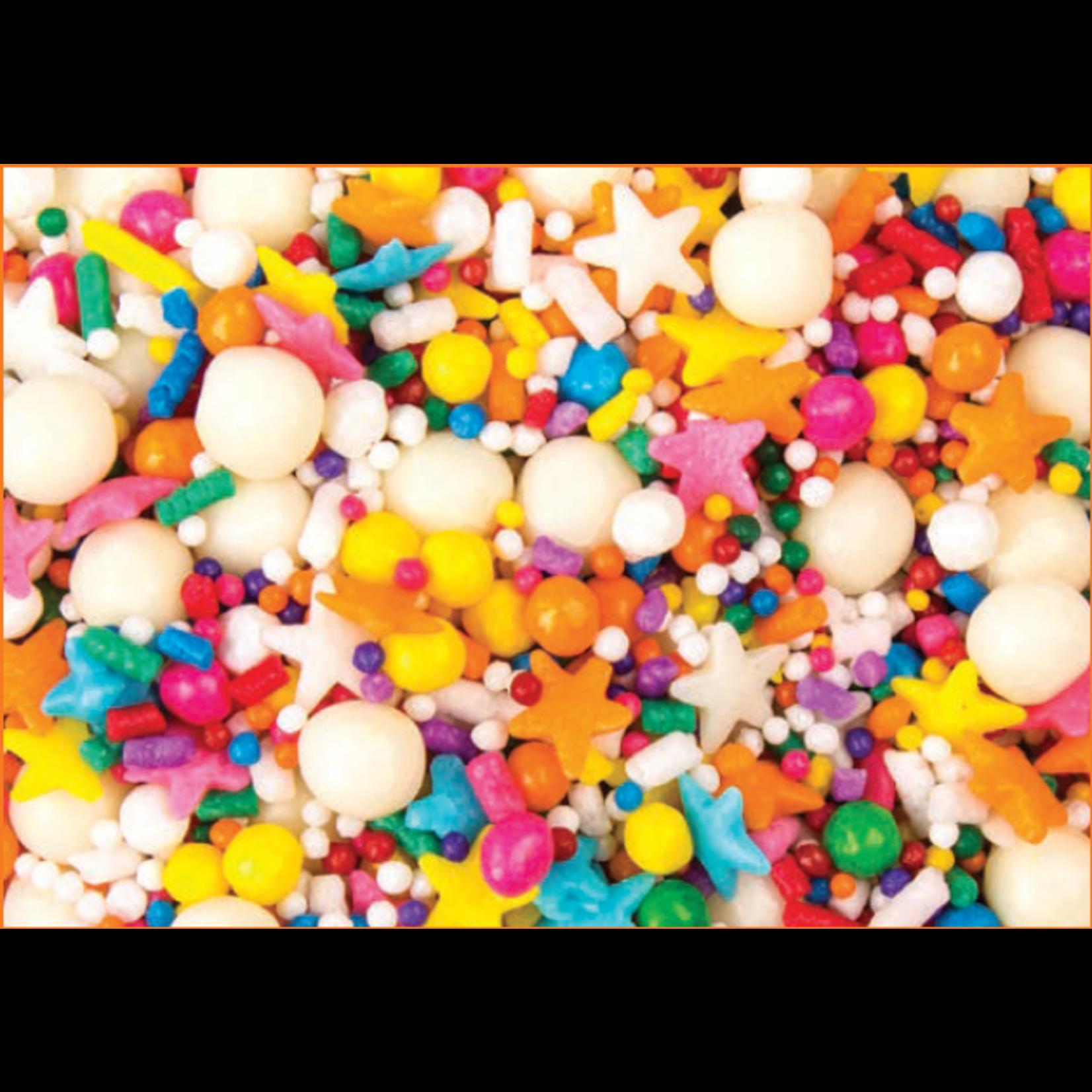 Mavalerio Mavalerio - Graffiti Sprinkle Mix, Rainbow Explosion - 4lb, 8977