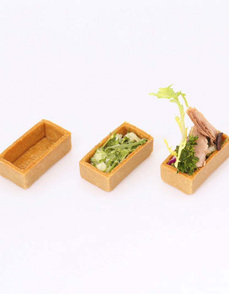 Delifrance Delifrance - Tart shell, Savory rectangle - 2x1'' (240ct), 79025