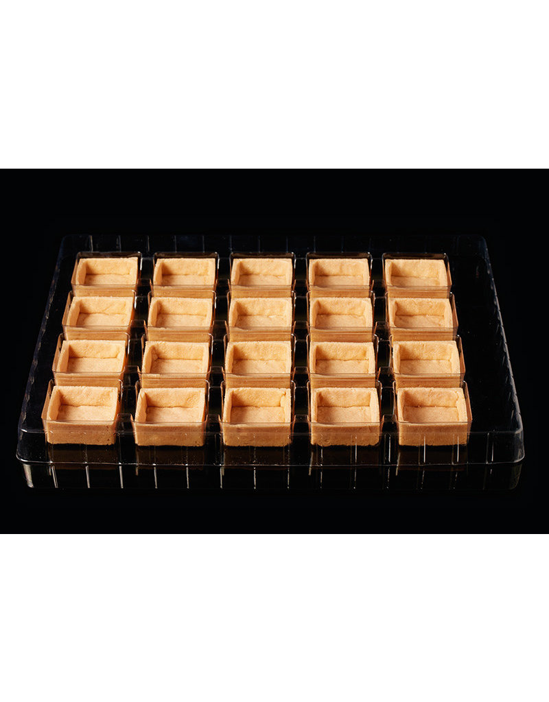 Delifrance Delifrance - Tart shell, square, Savory - 2'' (20ct) sleeve, 79035-S