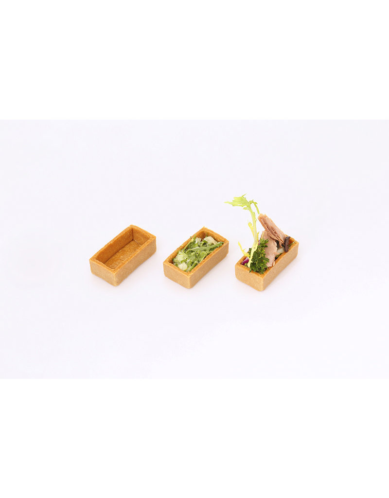 Delifrance Delifrance - Tart shell, rectangle, Savory - 2x1'' (48ct) sleeve, 79025-S
