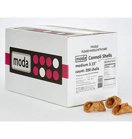 Moda Moda - Cannoli Shell, medium -  3.15'' (200ct), PA0302